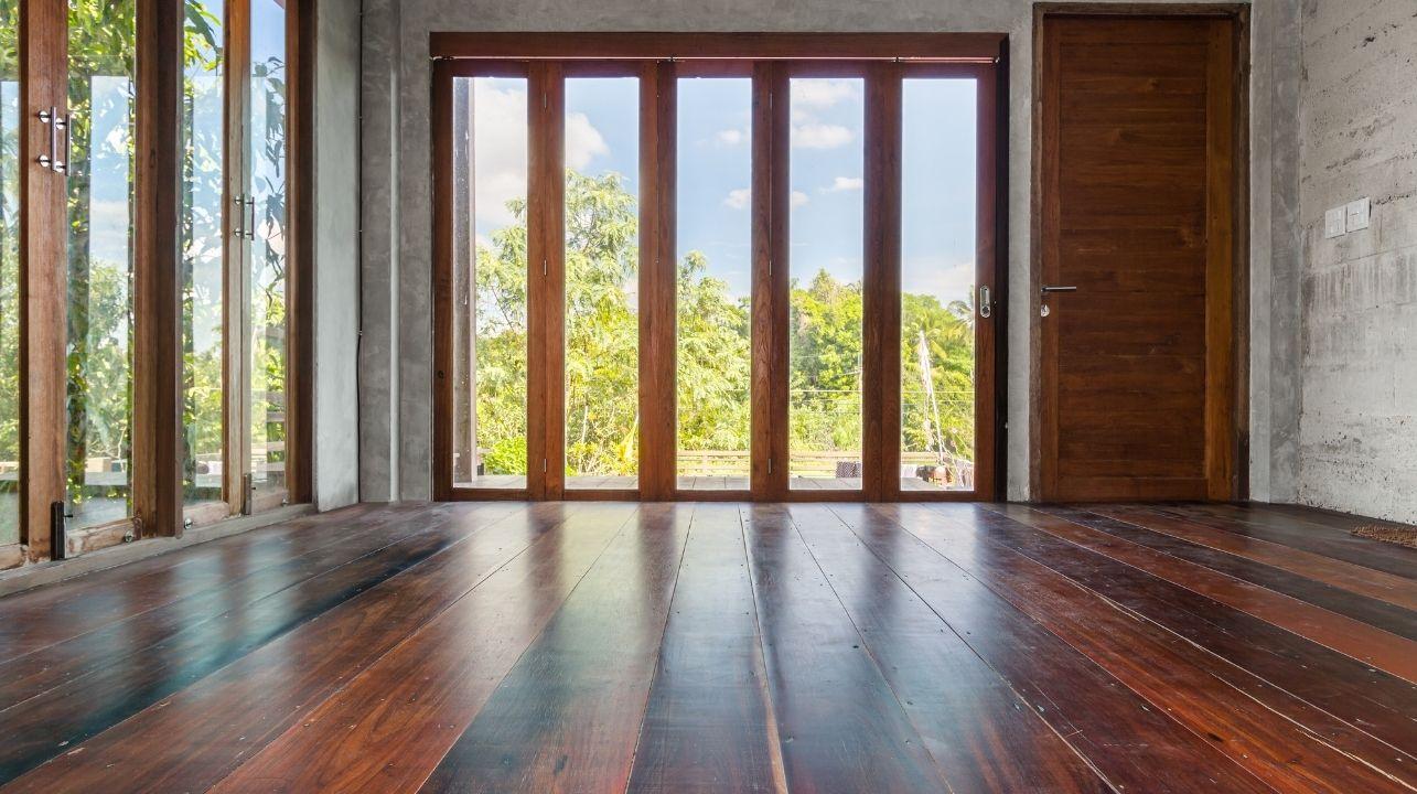 drzwi bezprogowe harmonijkowe tarasowe